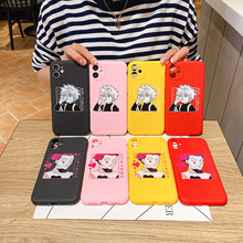 Cartoon Japan Animer Hunter X Hunter Phone Case for IPhone 12 11 Pro Max SE2 6S 7 8 Plus X XS XR Soft Silicon Back Cover Fundas