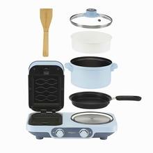 Машина для завтрака домашнего приготовления сэндвичей многофункциональная
