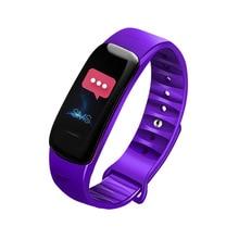 C1S цветной экран IP68 Водонепроницаемые Смарт-часы пульсометр кислородный монитор фитнес-упражнения спортивный браслет трекер активности
