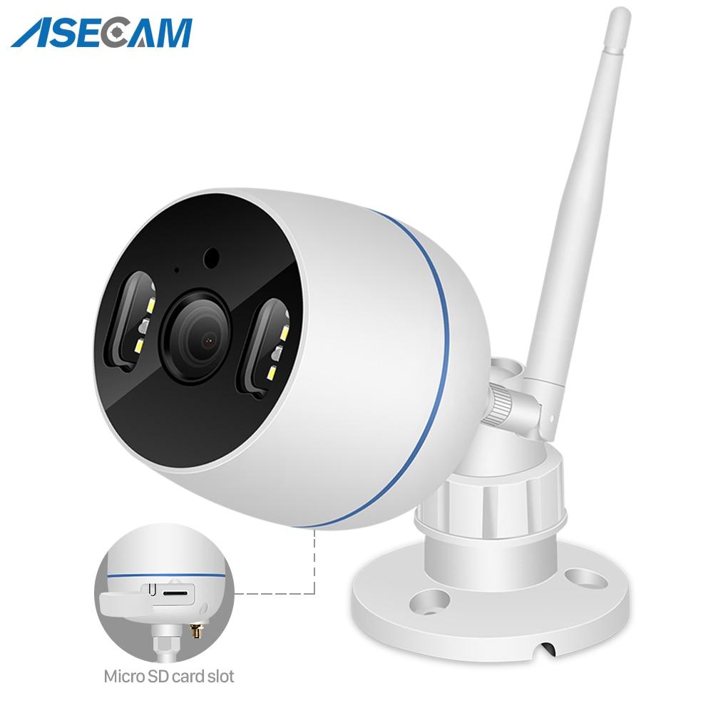 Caméra de surveillance Bullet extérieure IP Wifi Cloud hd 2MP/1080P, dispositif de sécurité domestique sans fil, avec Zoom numérique x4, Audio et Vision nocturne en couleur 1