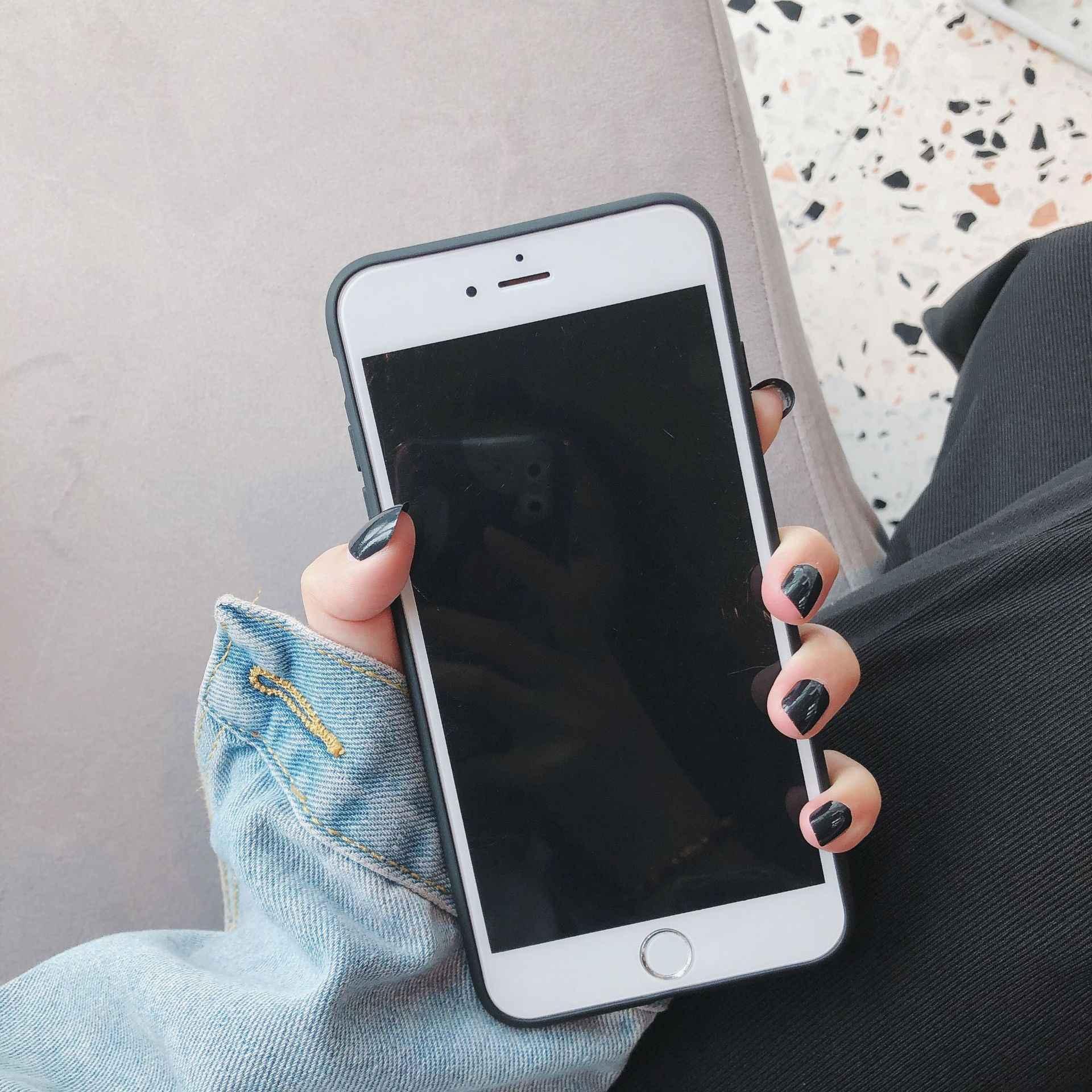 المد العلامة التجارية ورقة موز رسائل آيفون 7 Plus 8 6 6s X XS ماكس XR الحال بالنسبة iPhone7/8 plus سيليكون مكافحة الإفلات XR6s