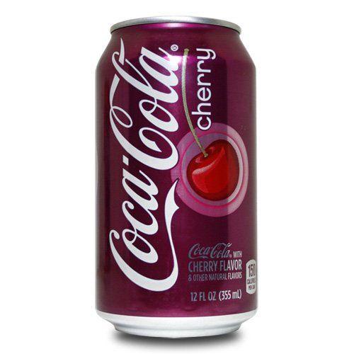 Coca Cola American Cherry Soda Aka Cherry Coke 355ml Can