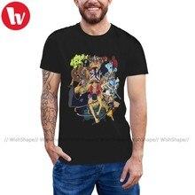 Camiseta de una pieza con sombrero de paja, camiseta de piratas, Camiseta de algodón impresionante, Camiseta estampada de manga corta para hombre