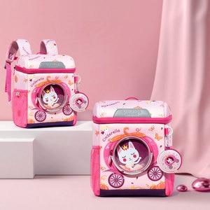 Image 5 - 3D Space Dinosaur Rabbit School Backpack for 2 6 Years Old Waterproof Cartoon Boys Schoolbag Children Gift Mochila Infantil (S)