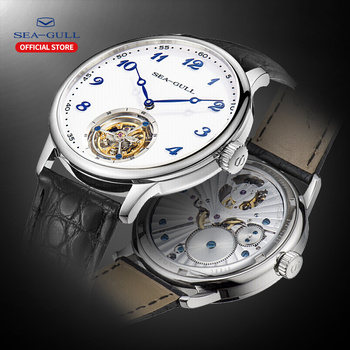 цена seagull watch men tourbillon mechanical watch luxury watch Manual winding mechanical watch mens luxury Business  skeleton watch онлайн в 2017 году