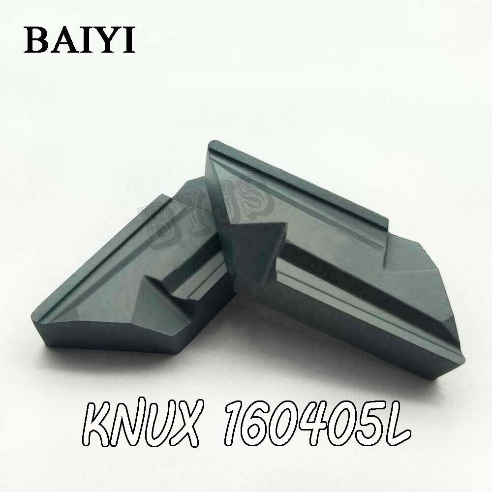 DKJNR2020K16 10pc KNUX160405 carbide insert indexable holder lathe turning tool