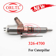 ORLTL 326-4700 inyector para riel 3264700 Diesel boquilla para combustible d18m01y13p4752 para Caterpillar C6 excavadora 320D del motor