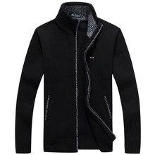 2021 Winter Jacket Men Park Pulls Homme Cardigans Fleece Warm Eden Men Windbreaker Autumn Winter Plus Size M~3XL Coats Male