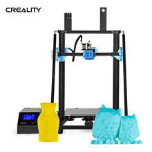 Creality 3d impressora kit diy CR-10 v3 atualização de alta precisão tmc2208 driver grande tamanho impressão com 8g sd cartão pla filamento