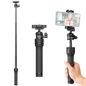 Image 4 - Ulanzi MT 34 extensível selfie vara tripé handheld fotografia suporte tripé com 1/4 Polegada parafuso de montagem para vlog ao vivo