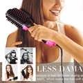 Secador de pelo de un paso y secador de pelo de volumen secador de pelo cepillo estilizador profesional alisador de cabello alisado peine de enredos