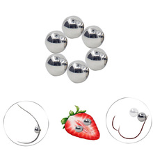 2 Pair BDSM Bondage Adult Sex Toys For Women Couples Games Ultra Powerful Magnetic Orbs BDSM Nipple Clamps Orbs Vagina Clitoris