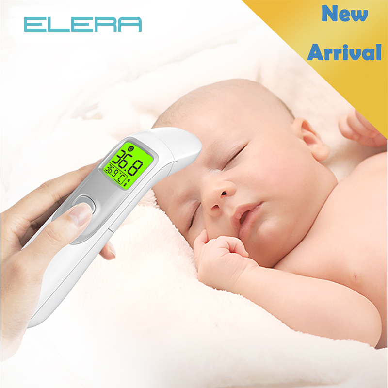 ELERA New Infrared Digital Baby Thermometer Body Measurement Medical Ear And Forehead Thermometer For Baby Adult