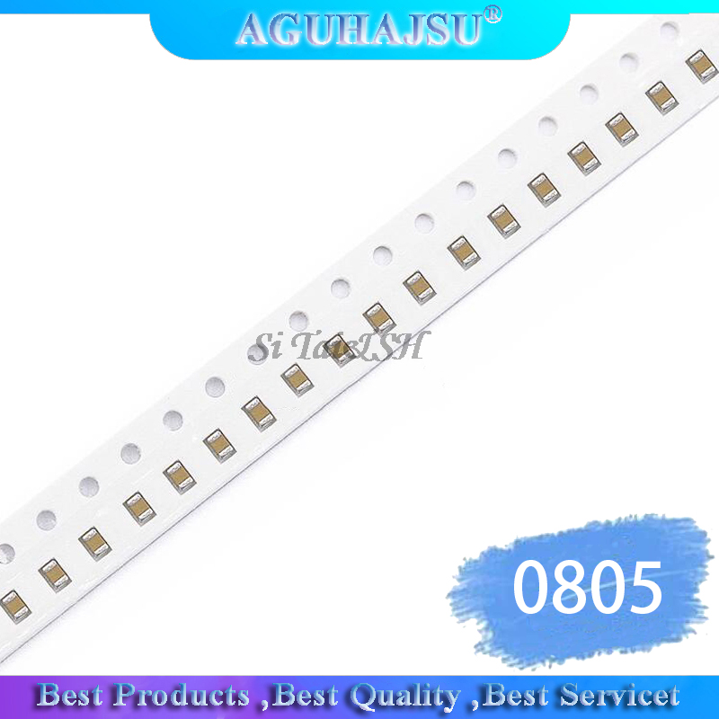 100pcs <font><b>2.2UF</b></font> X5R Error 10% 16V 0805 225 SMD Thick Film Chip Multilayer Ceramic <font><b>Capacitor</b></font> image