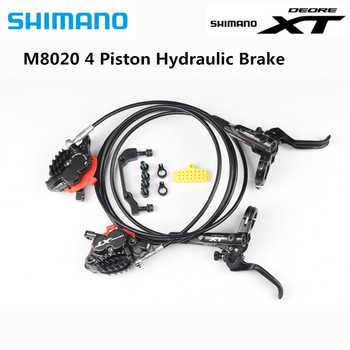 Shimano XT M8020 4 Piston Mountain Bike Bicycle Hydraulic Disc Brake For MTB Bike Downhill DH Front 1000mm Rear 1700mm - DISCOUNT ITEM  36% OFF All Category