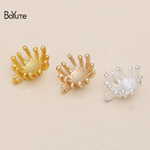 BoYuTe (50 Pieces/Lot) Metal Alloy Flower Stamen Pistil Jewe