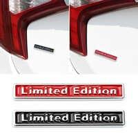 Pegatina de coche para opel astra g, bmw e30, mitsubishi asx, citroen, xsara, picasso, bmw e92, e87, e46, toyota, edición limitada en 3D, negro/rojo