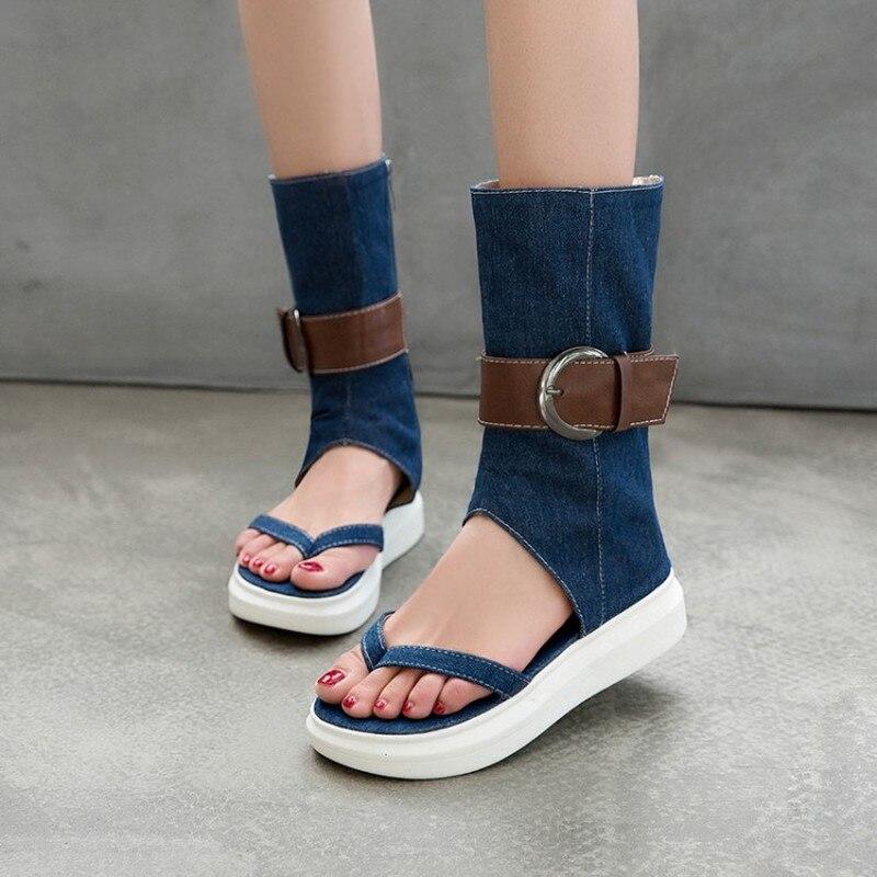 Сандалии женские летние на платформе, удобные пляжные туфли, повседневные спортивные сандалии для улицы, размеры 34-43, 2020