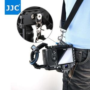 "Image 4 - JJC Deluxe מצלמה יד גריפ רצועת יד עבור Sony ניקון Canon פוג י Panasonic אולימפוס עם 1/4 "" 20 חצובה שקע עבור DSLR"
