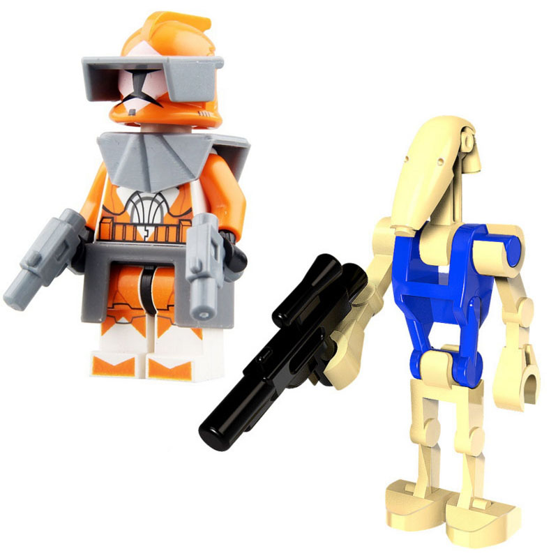 Building Blocks Soldiers Toys DIY Bricks Toy Educational Gift For Kids Children Assemble Model Doll Blocks Toy