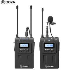 BOYA WM8 Pro-K1 K2 UHF Wireless Lavalier-mikrofon Mikrofon System Audio Recorder Sender + Empfänger für Canon Nikon DV Smartphone