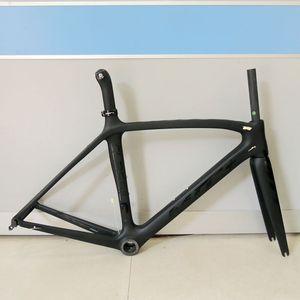 Image 5 - Son 53 54 56 50cm yeni karbon yol bisiklet iskeleti yol bisiklet bisiklet frameset marka çerçeve açıklığı çerçeve çatal ile karbon çerçeve