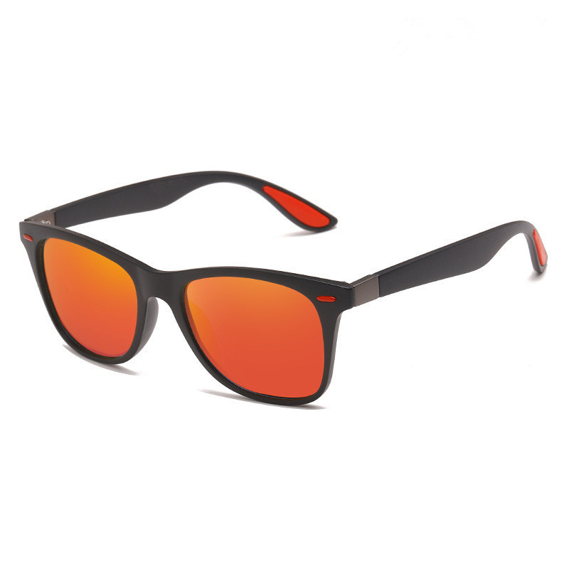 2020 nuovo Design del marchio occhiali da sole polarizzati uomo donna tonalità di guida maschile Vintage occhiali da sole Spuare specchio estate UV400 colori 1