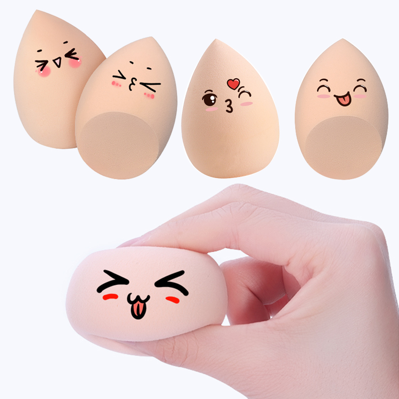 1pcs Makeup Cosmetic Puff Sponge Powder Foundation Blending Beauty Make Up Tools & Accessories Water-drop Shape Soft Puff