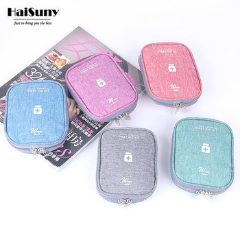 Portable First Aid Kit Emergency Medical Box Outdoor Travel Camping Equipment Oxford Cloth Medical Bag First Aid Drug Container wilderness first aid equipment case