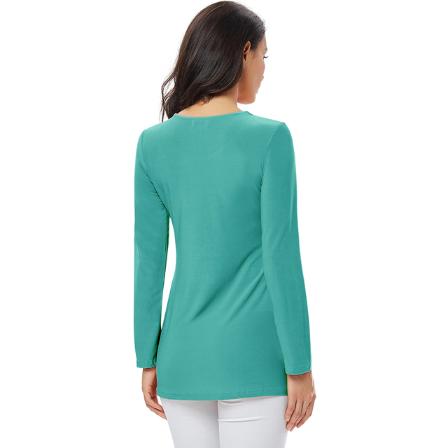 YTL Ladies Golden Diamond Waist Decoration Slim Tunic Tops Casual Party Long Sleeve Women Elegant Lace Floral Blouse Shirt H025G 10