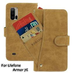 На Алиэкспресс купить чехол для смартфона leather wallet ulefone armor 7e case 6.3дюйм. flip fashion luxury front card slots cases cover business magnetic phone bags