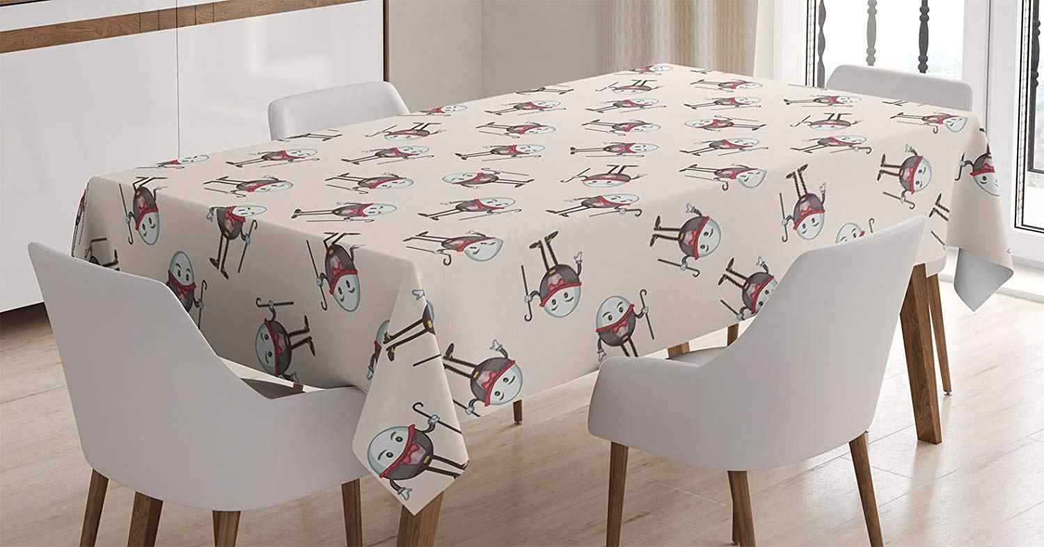 Wonderland Tablecloth Humpty Dumpty Egg