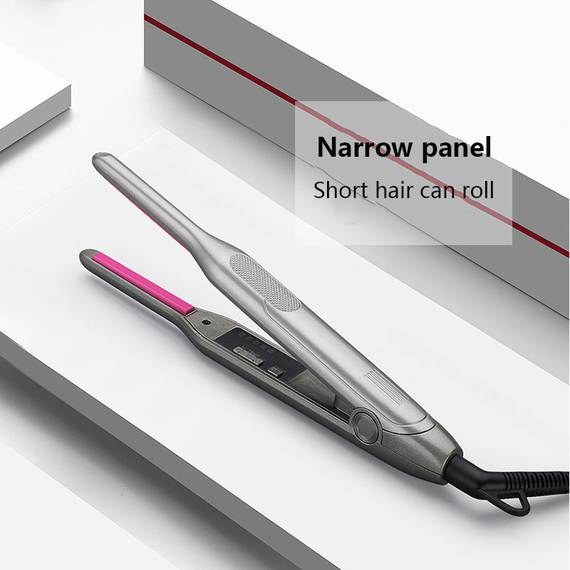 Narrow Board 7MM Straight Hair Curling Hair Short Hair Curling Hair Straightening Tourmaline Ceramic Straight Hair Curling Stick image