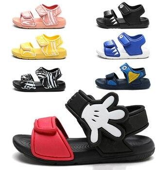 2020 Kids Girls Sandals Summer New Non-slip Beach Shoes Open Children's Sandals Wild Boys Student Children's Shoes