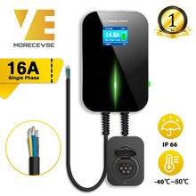 EV Charger EVSE Wallbox Electric Vehicle Charging Station with Type 2 Socket 16A 1Phase IEC 62196-2 for Audi BMW Mercedes-Benz