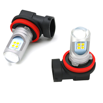 2Pcs H8 H11 LED 6000K White Car Fog Lamp for BMW 3 5 Series F30 F10 E60 E90 E36 E34 E39 E91 E92 E38 E65 LED Lights HB3 HB4 Bulb image