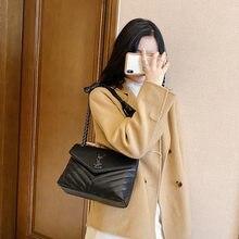2020 catena femminile nuova borsa femminile PU piccola borsa a tracolla messenger ck grande