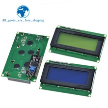 LCD2004+I2C 2004 20x4 2004A Blue/Green screen HD44780 Character LCD /w IIC/I2C Serial Interface Adapter Module For Arduino