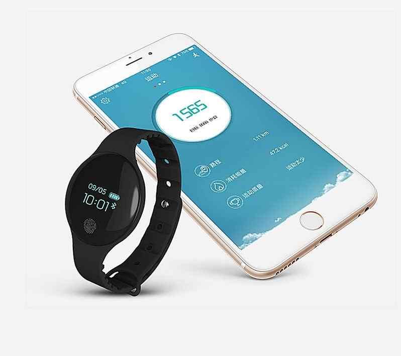 SANDA חכם שעון נשים גברים ספורט שעון כושר צמיד צבע-מסך עמיד למים קלוריות פדומטר גשש להתחבר IOS אנדרואיד