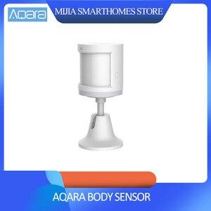 Image 1 - Originele xiaomi Aqara Body Sensor & Lichtintensiteit Sensoren, zigBee wifi Draadloze Werk voor xiaomi smart home mi jia mi thuis app