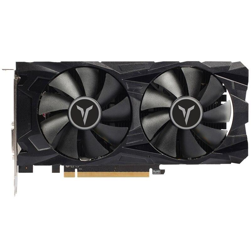 Yeston Radeon RX560D 4GB GDDR5 PCI Express  3.0 DirectX12 video gaming graphics card external graphics card for desktop 2