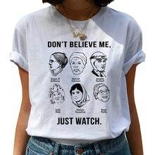 Feminist Harajuku 90s Graphic T Shirt Women Feminism Fight Like A Girl Cartoon T-shirt Girl Power Ts