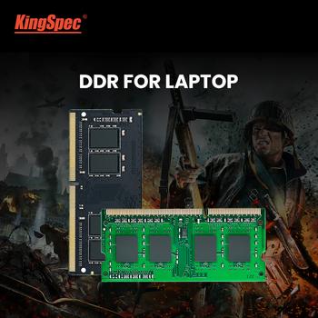 KingSpec DDR4 pamięci RAM 4GB ddr4 8gb 16GB 2400MHz 2666 RAM do laptopa Notebook Memoria tanie i dobre opinie 2400 Mhz CN (pochodzenie) DDR4-XXX 260 pinów 1 2VV 2400 2666MHz Black Blue send randomly 69 6mm length * 30 0mm wide * 3 7mm
