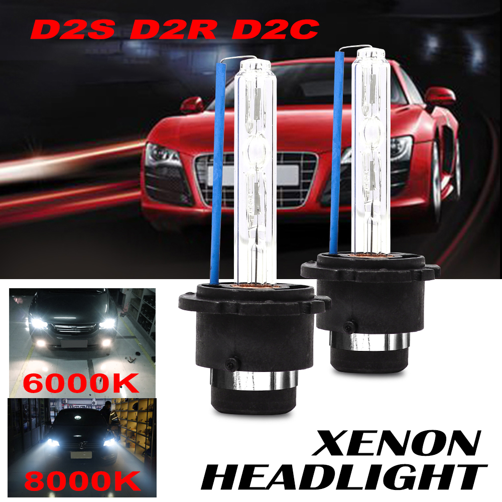 FDCHT D1s D2s D3s D2r D4s Bi Xenon Car Headlight Bulb 6000k Auto Accessories 35w Zenon Nhk Lamps Kit Moto Light Ds1 Ds2 Xenom