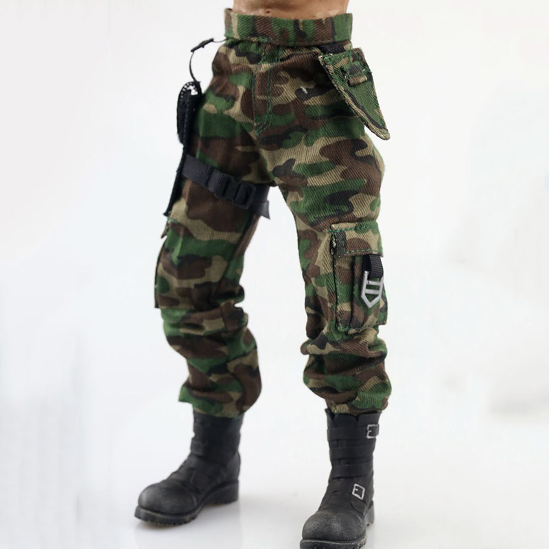 1//6 Women Camouflage Outfits Jeans Set For PHICEN Hot Toys Figure SHIP FROM USA