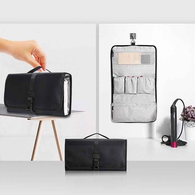 Дорожная сумка для хранения волос аксессуары для стайлинга держатель несколько мешков с крюком вешалка бигуди защитный чехол портативный для домашнего использования