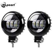 NLpearl Led 라이트 바/작업 빛 5 인치 30W Led 작업 빛 Offroad 12V 24V LED 안개 라이트 바 4x4 지프 ATV SUV 트럭 트랙터