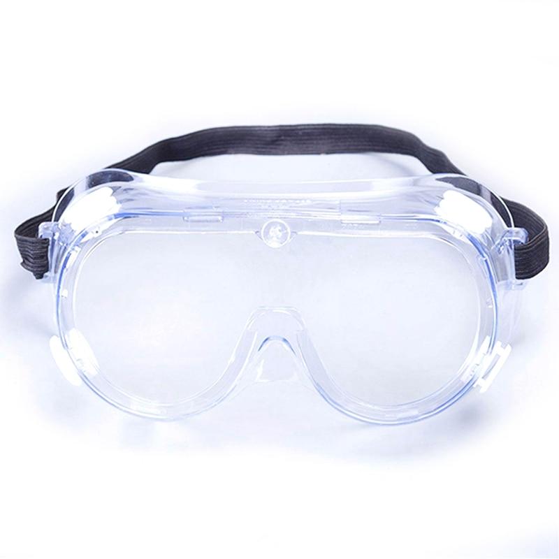 Protective Safety Glasses Work Anti Virus Eye Anti-Fog Anti Sand windproof Anti Dust Saliva Transparent Goggles Eye Protection