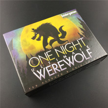One Night Ultimate Werewolf board games werewolves for home party English version Cards Game