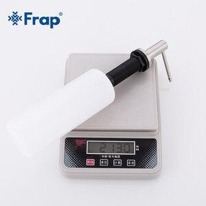 Image 5 - Frap 500ml סיפון רכוב יד כיור חומר ניקוי מתקן לסבון 304 נירוסטה נוזל סבון ABS בקבוק מטבח אביזרי Y35001